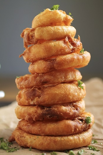cayenne pepper onion rings